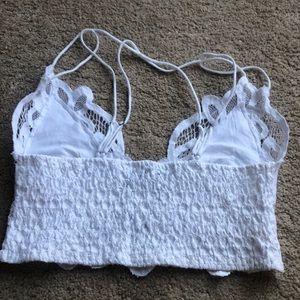 Free People Intimates & Sleepwear - 🌟new free People Adella lace Bralette white med